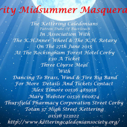 The Kettering Caledonians: A Charity Midsummer Masquerade Ball