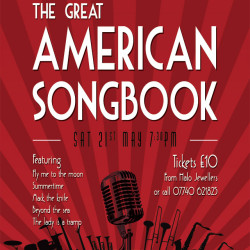 The Great American Songbook, Sat 21st May